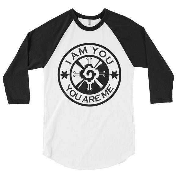 WE ARE ONE RAGLAN 3/4 SLEEVE TEE