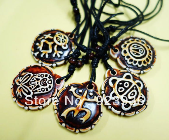 5PCS Taino Mix Sol de Utuado Puerto Rico Necklace