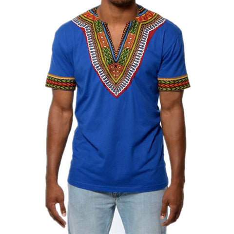 African Dashiki Maxi Man's T-shirt Summer Man Clothes Man Tribal