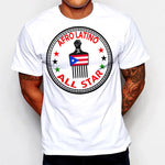 Afro Latino All Star Pick T-Shirt Puerto Rico