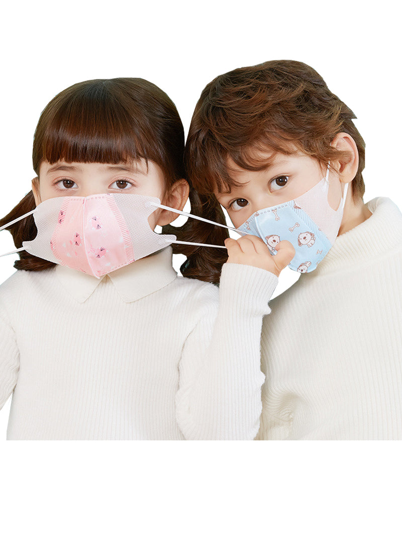 4-layer Melt-blown Fabric Kids Cartoon Disposable Face Mask