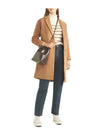 Pippa Middleton Inspired Pea Coat Camel Coat