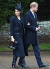 Meghan Double Breasted Deep Navy Tailored Slim Coat