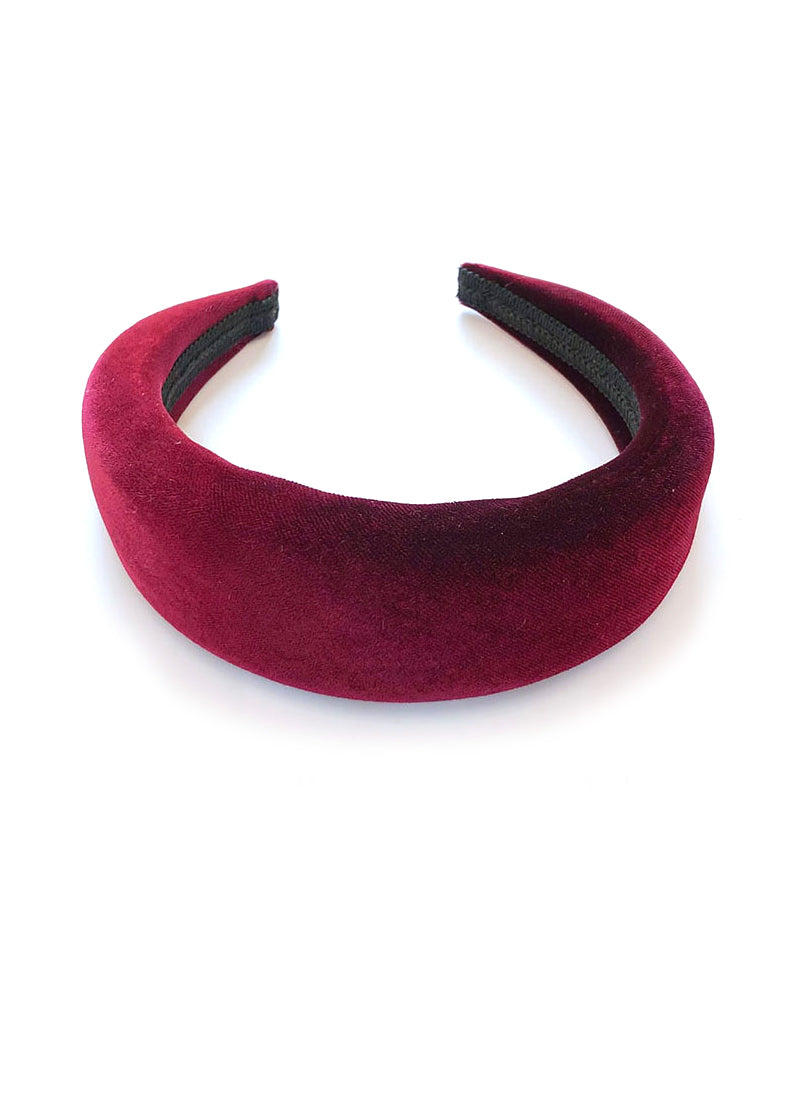 Middleton Sister Inspired Chunky Padded Velvet Headband