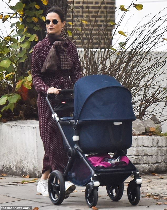 Kate & Pippa Margot Spot Shirt Dress in Burgundy