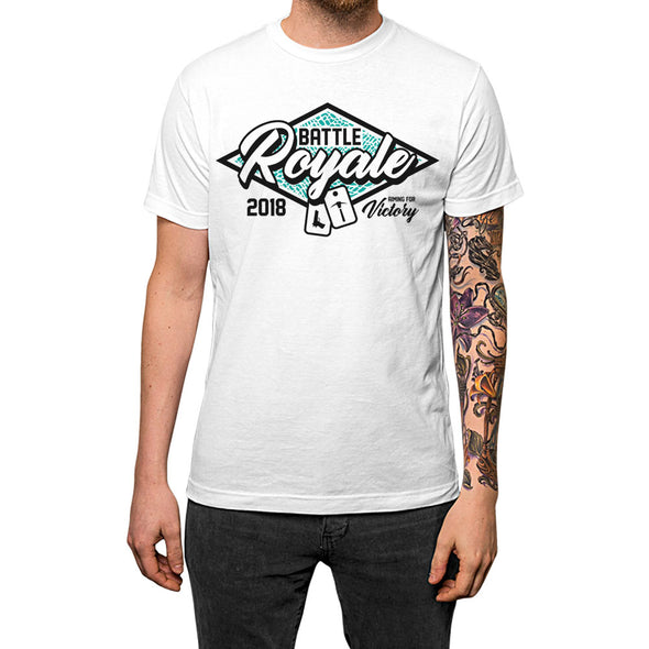 Battle Royale	T-shirt White Mens