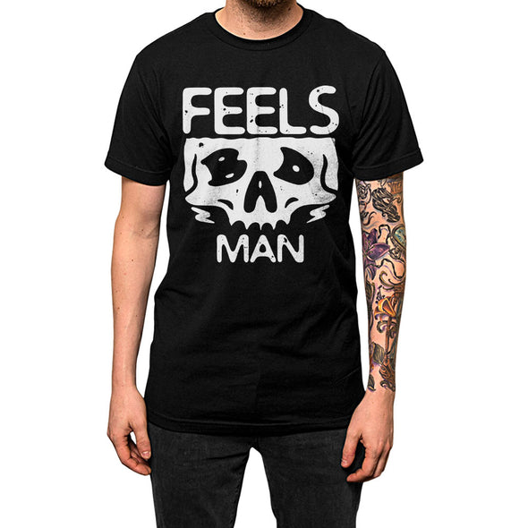 Feel Bad Man'	Shirt Black Mens