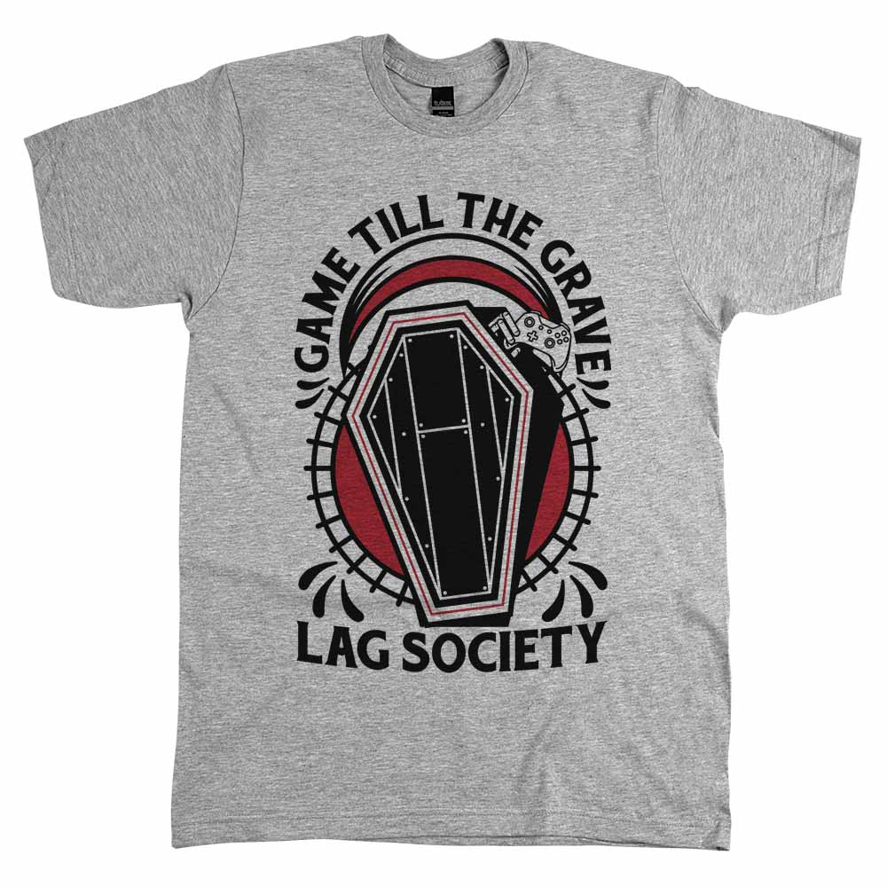 Game 'Till the Grave'	Shirt Athletic Grey