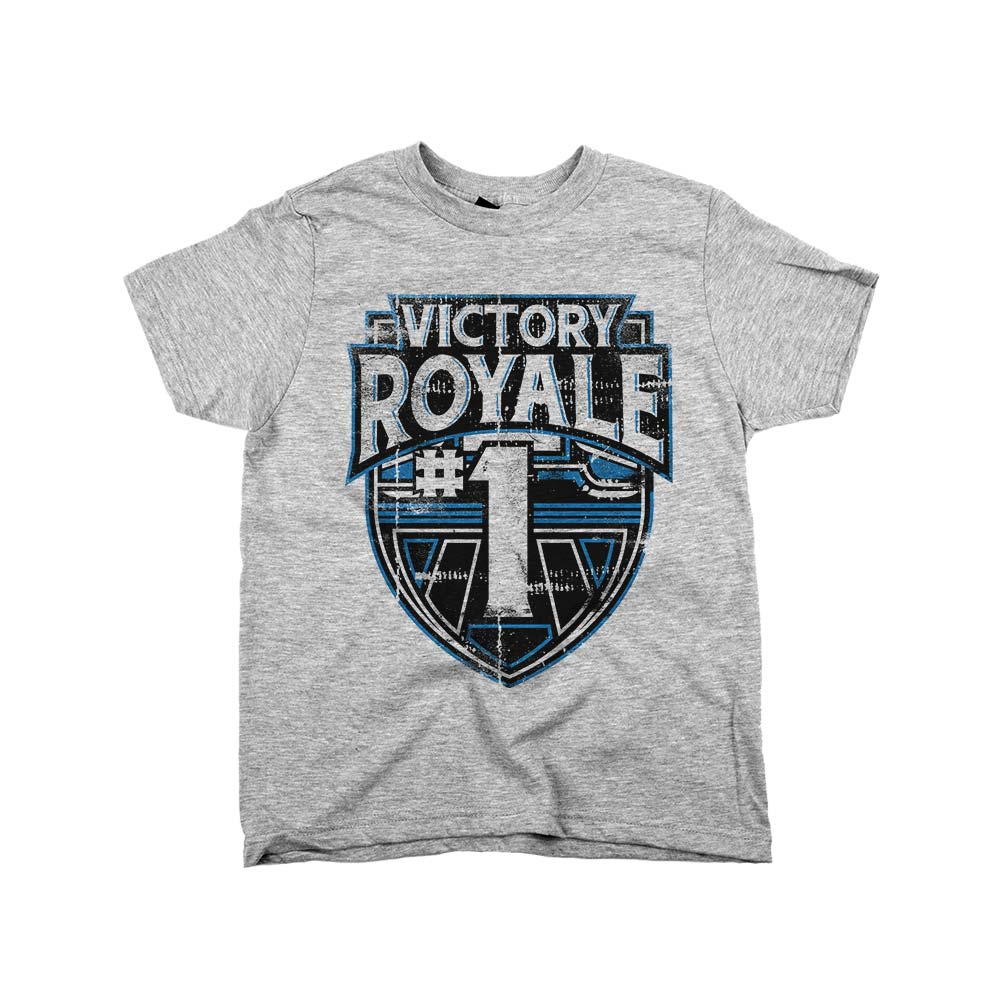 Victory Royale	Shirt Athletic Grey Kids
