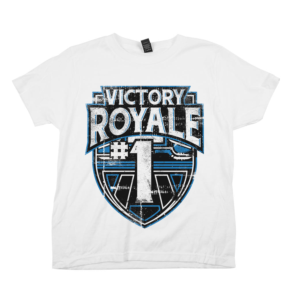 Victory Royale	Shirt Athletic White Youth