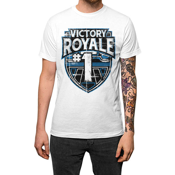 Victory Royale	T-shirt White Mens
