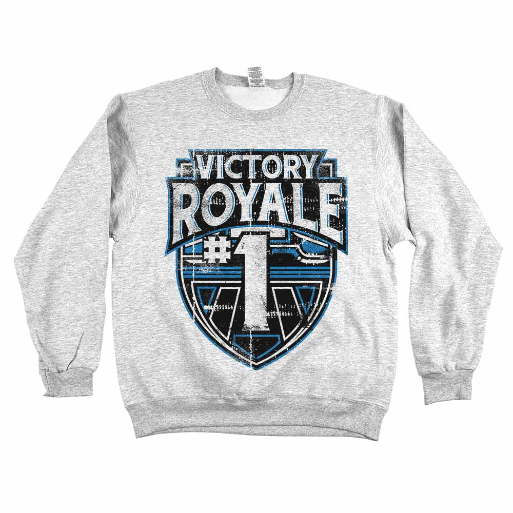 Victory Royale	Sweatshirt Grey