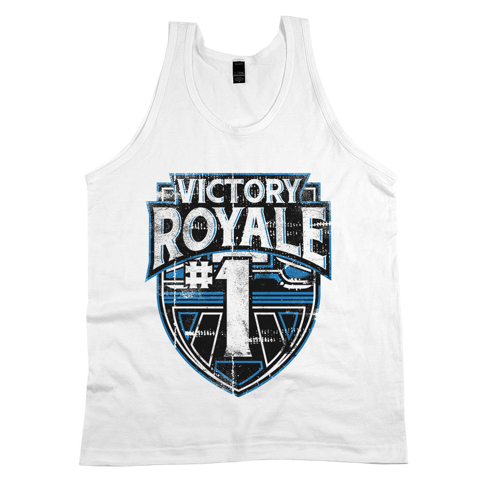 Victory Royale	Tank Top White Mens