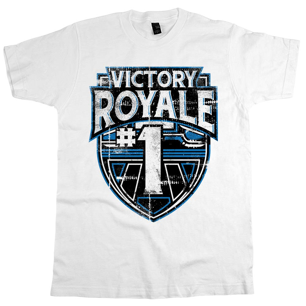 Victory Royale	T-shirt White