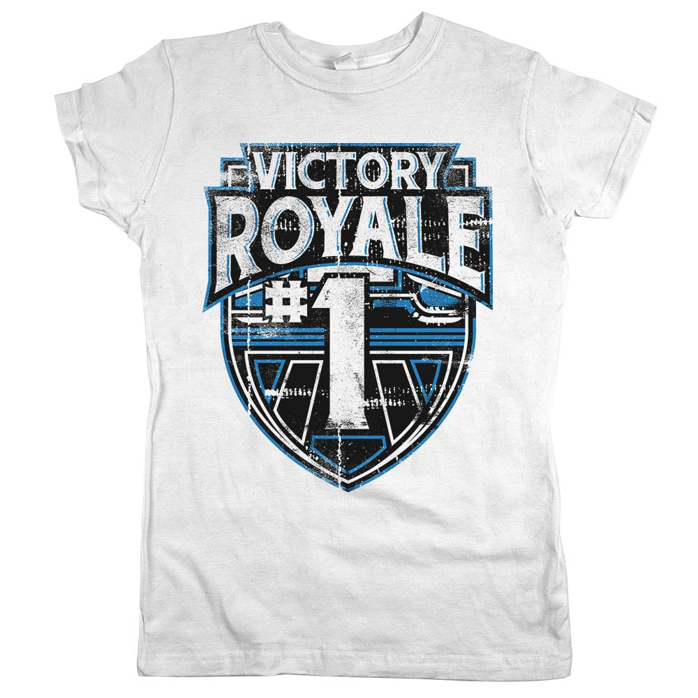 Victory Royale	T-shirt White Womens