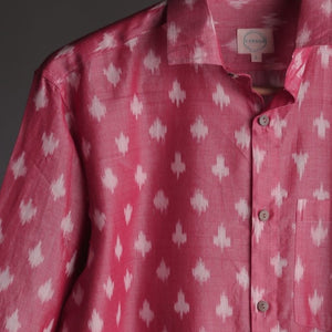 Rouge Ikat Casual Shirt Size XL/42 & XXL/44