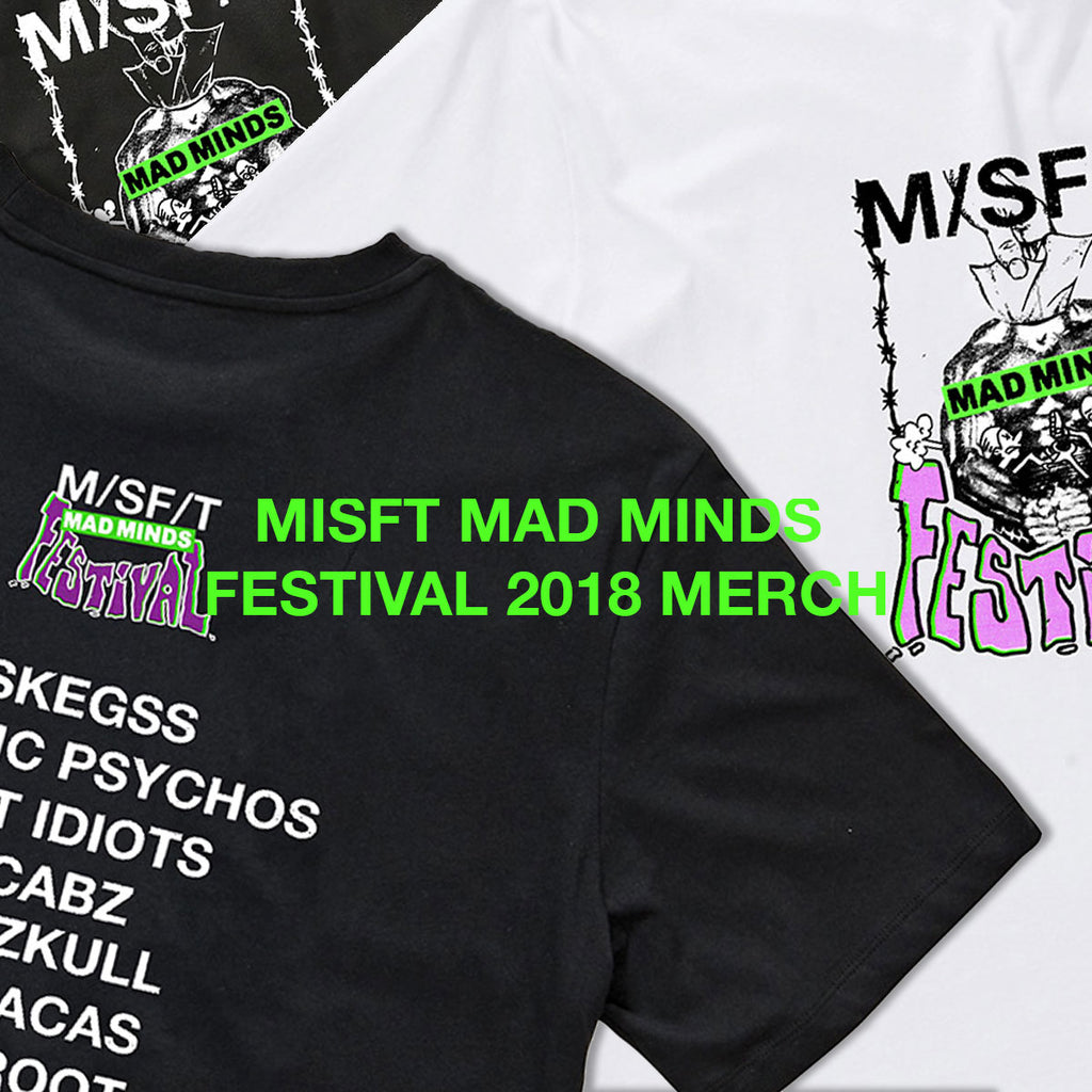 Misfit Mad Minds Festival 2018 Merch