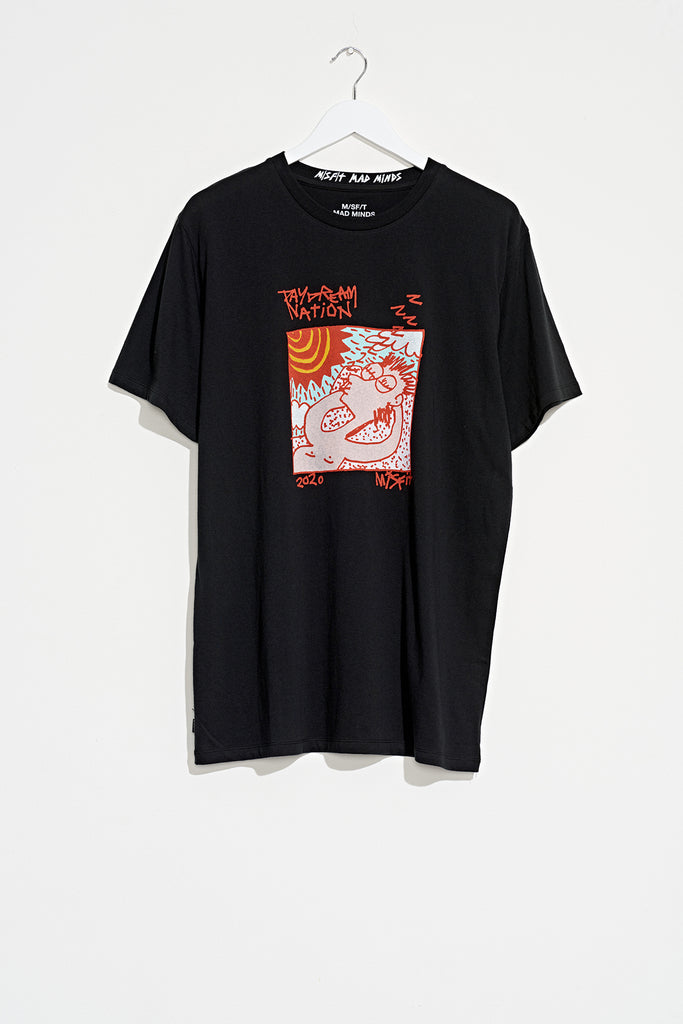 Nation Island SS Tee - Misfit Shapes