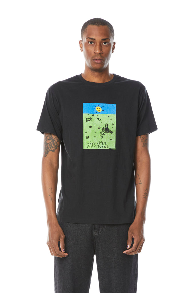Pleasure Trove Tee - Misfit Shapes