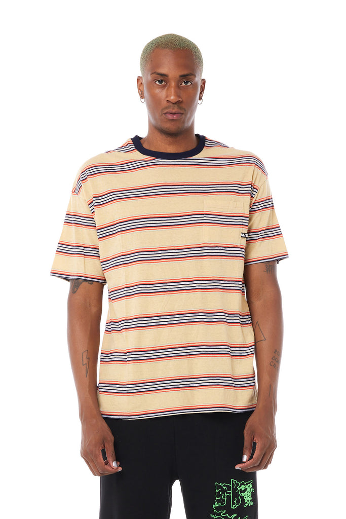 In Peaces YD Stripe SS Tee