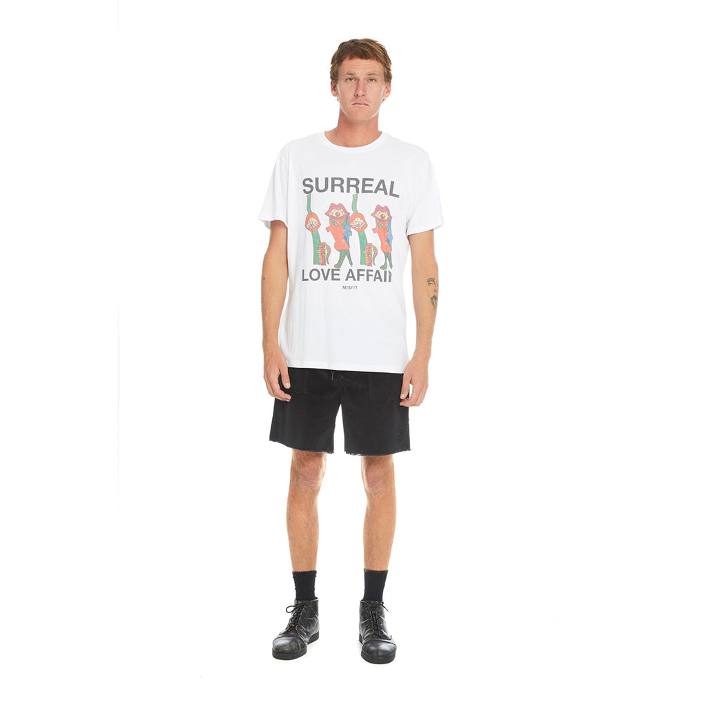 Surrealism SS Tee, Misfit Shapes