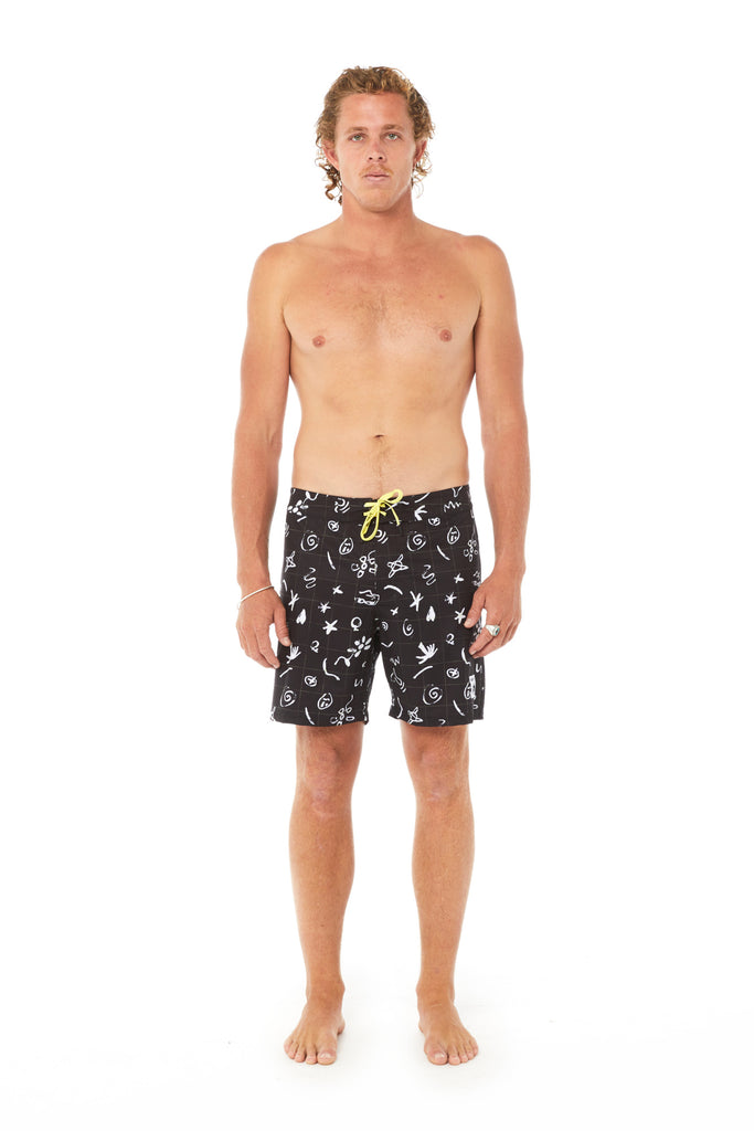 Live in Singapore Boardshort, Misfit Shapes