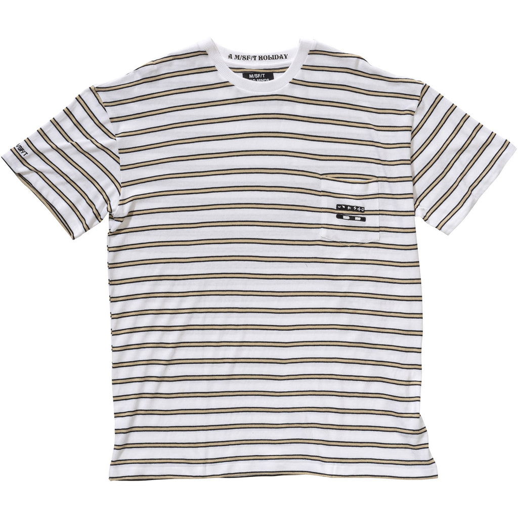 Shivers Stripe Tee - Misfit Shapes