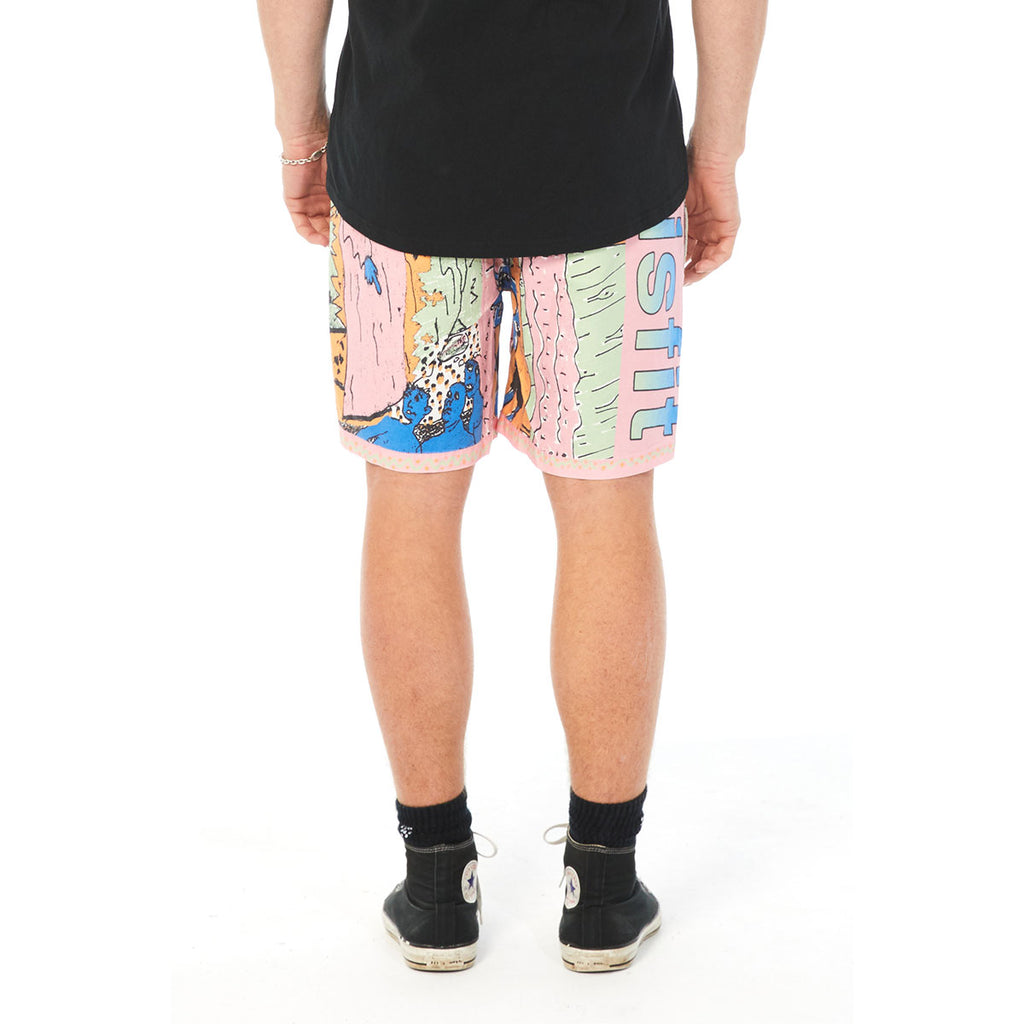 BRAIN ENO BOARDSHORT, Misfit Shapes