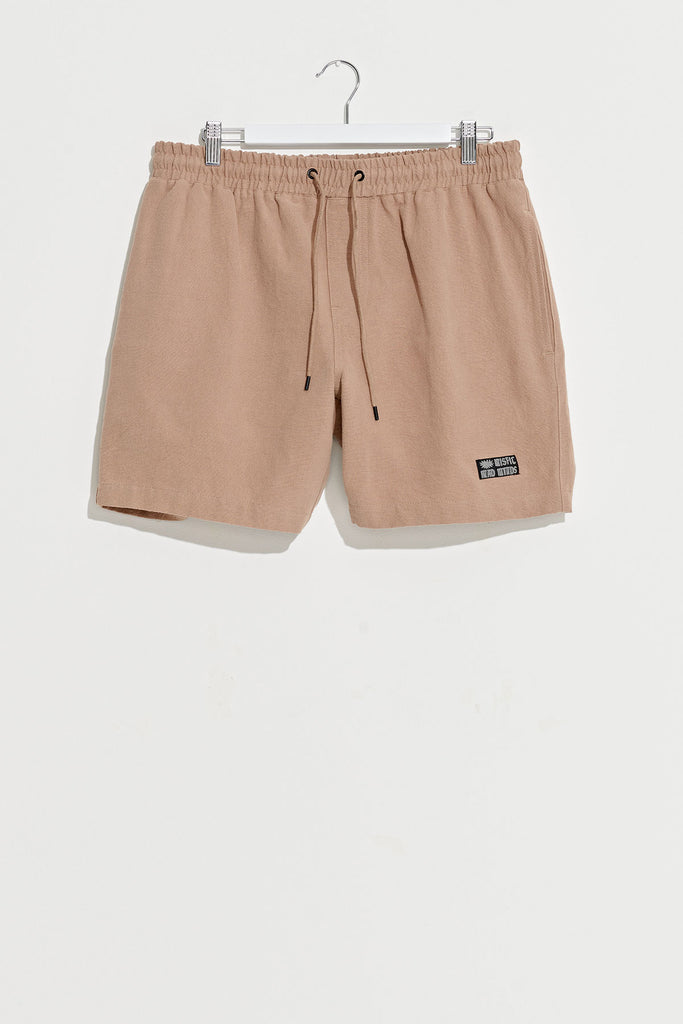 Linen Suspended Short