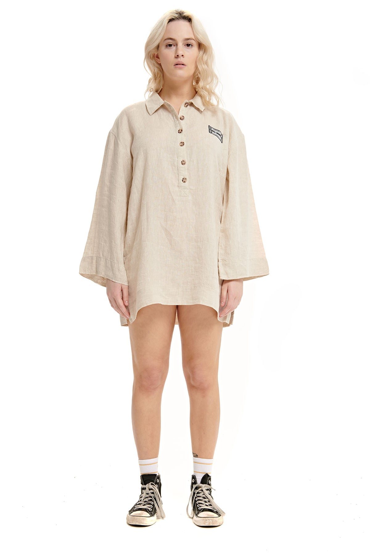 Motion Reads Linen Dress
