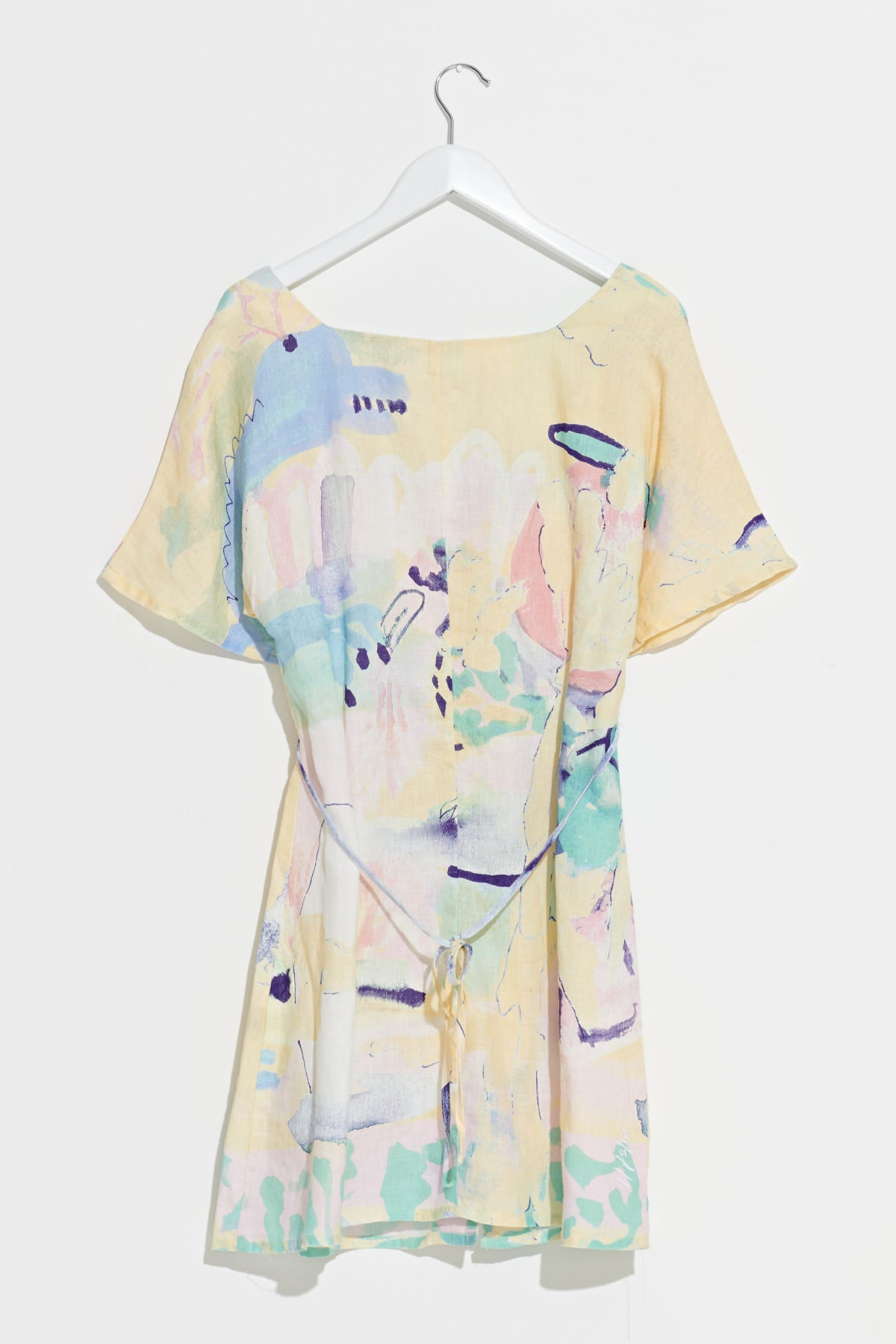 Jungle Soup Linen Dress