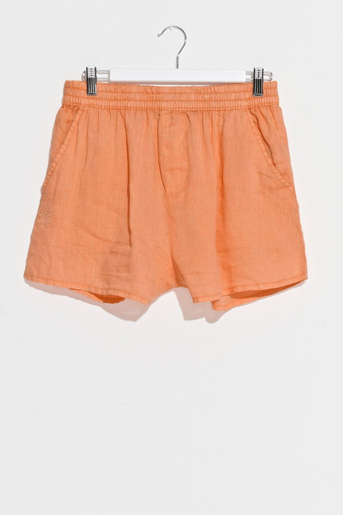 Prune Butterfly Short