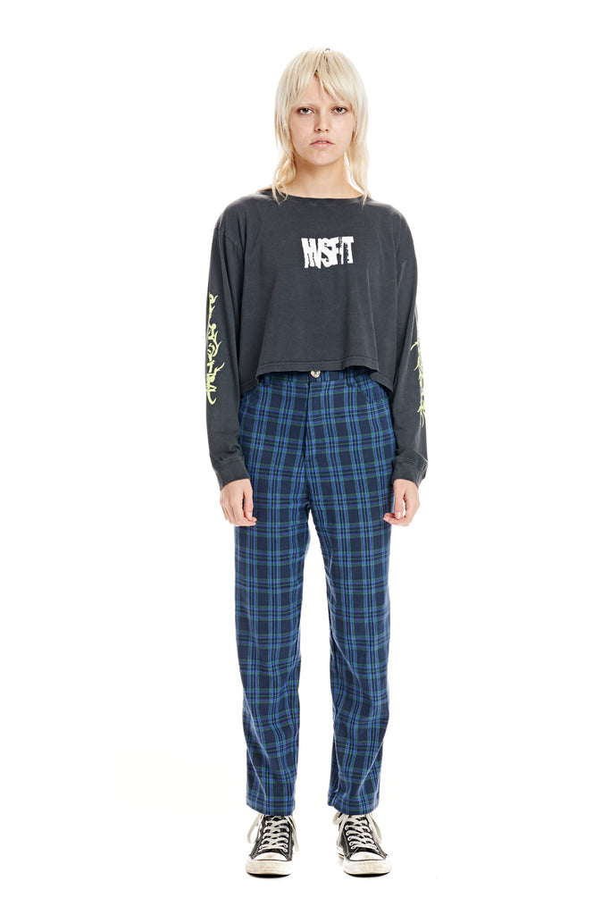 Skinner LS Crop Tee, Misfit Shapes