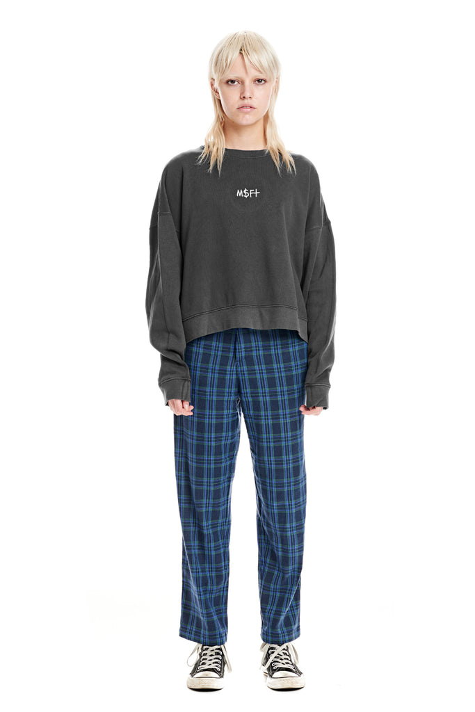 Deep Dish Cropped Crew - Misfit Shapes
