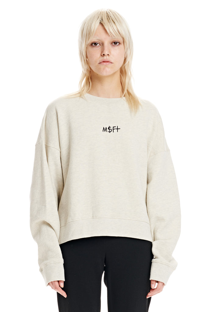 Deep Dish Cropped Crew, Misfit Shapes
