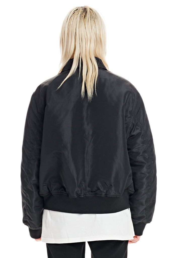 Unseen Between Bomber Jacket, Misfit Shapes