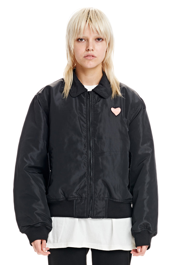 Unseen Between Bomber Jacket - Misfit Shapes