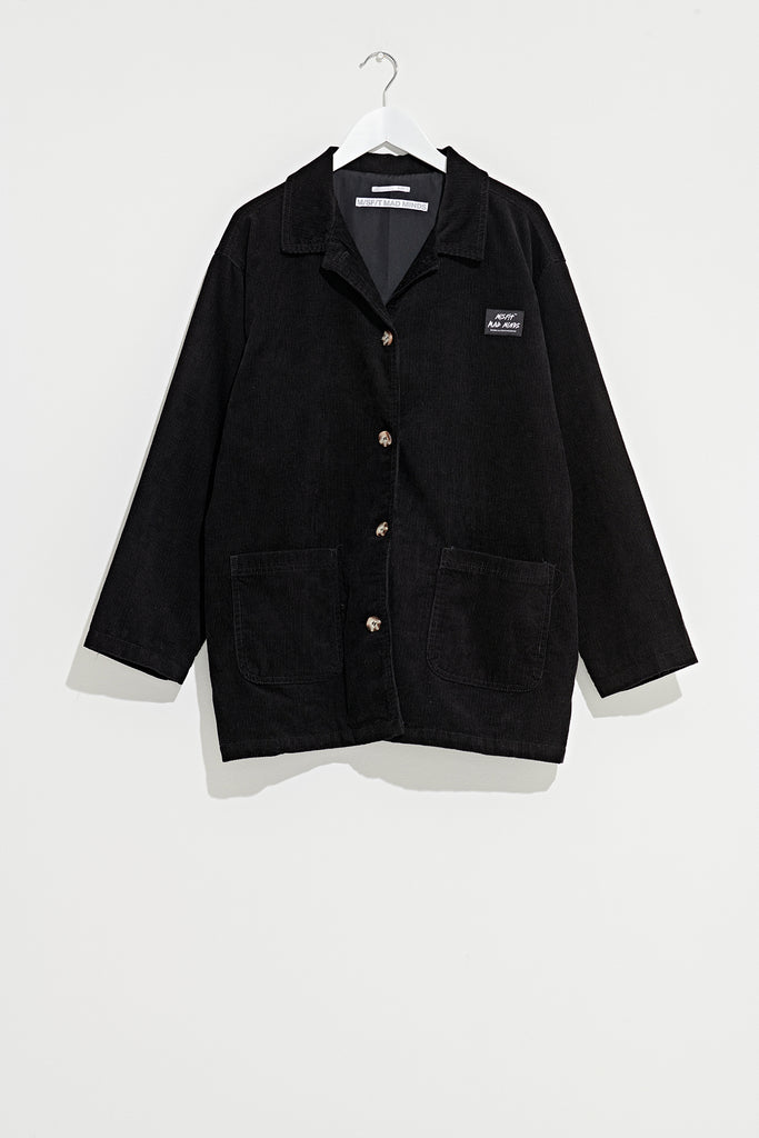 Carnegie Cord Jacket, Misfit Shapes