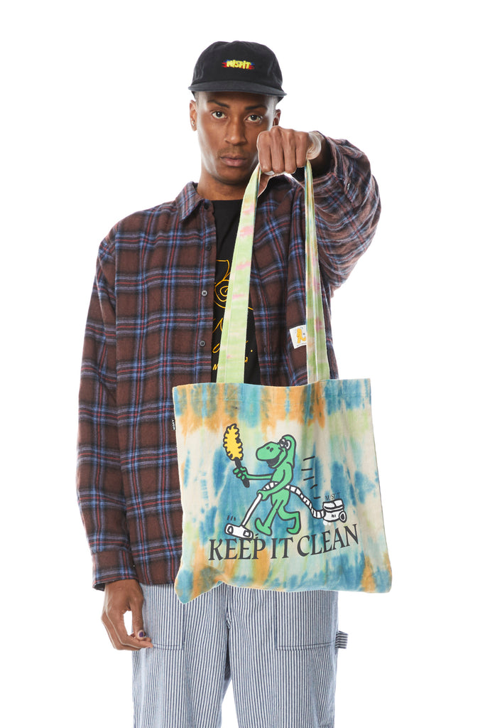 Keep It Clean Tote, Misfit Shapes