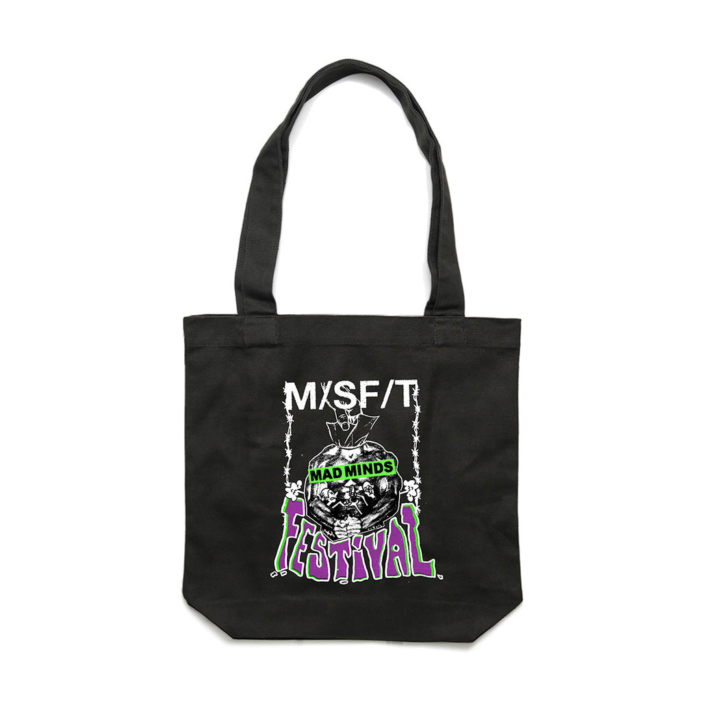 Misfit Mad Minds Festival Tote