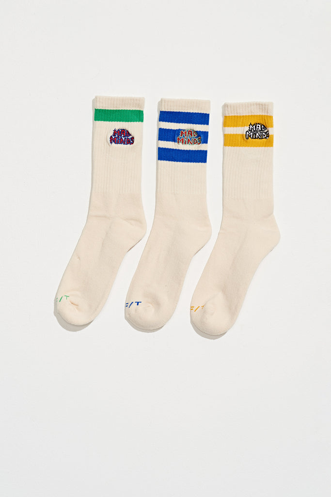 Jim Nasium Socks, Misfit Shapes