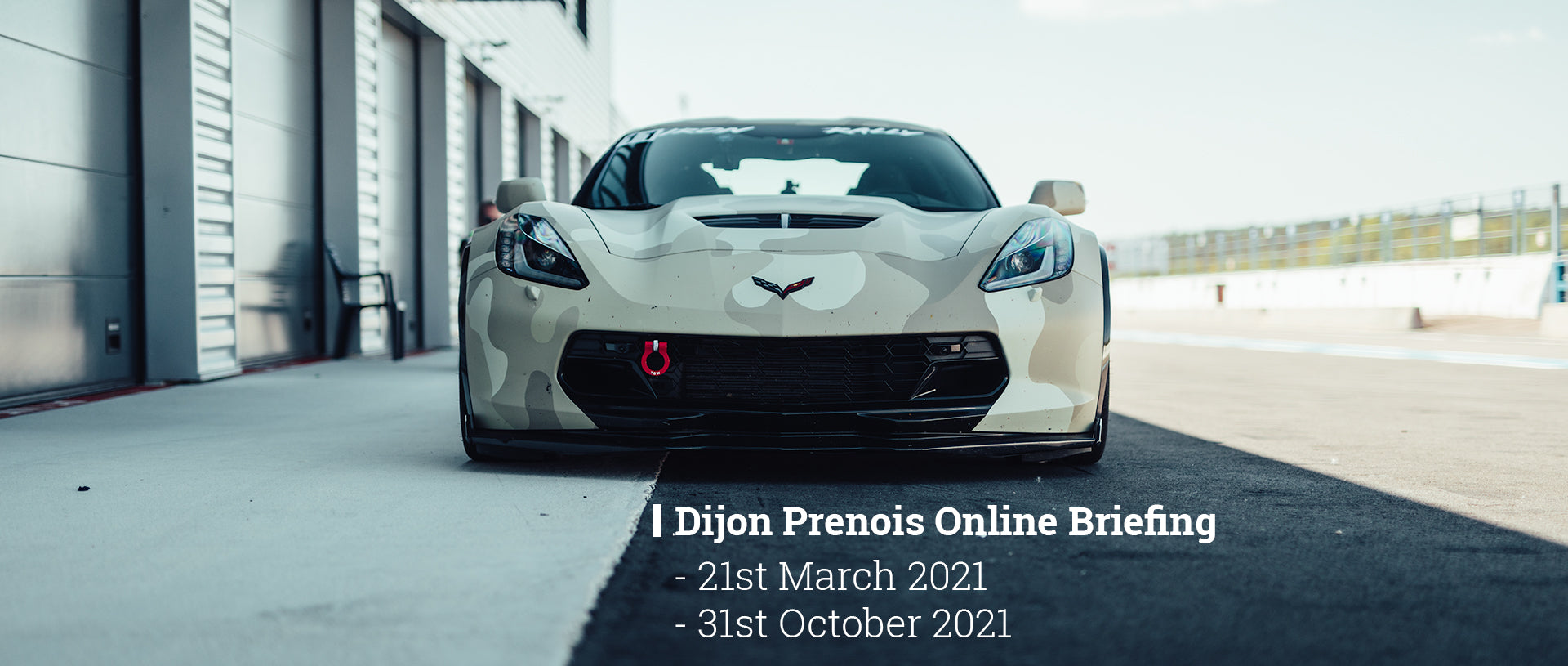 GP Days E-Briefing Dijon Prenois Track Day 2021
