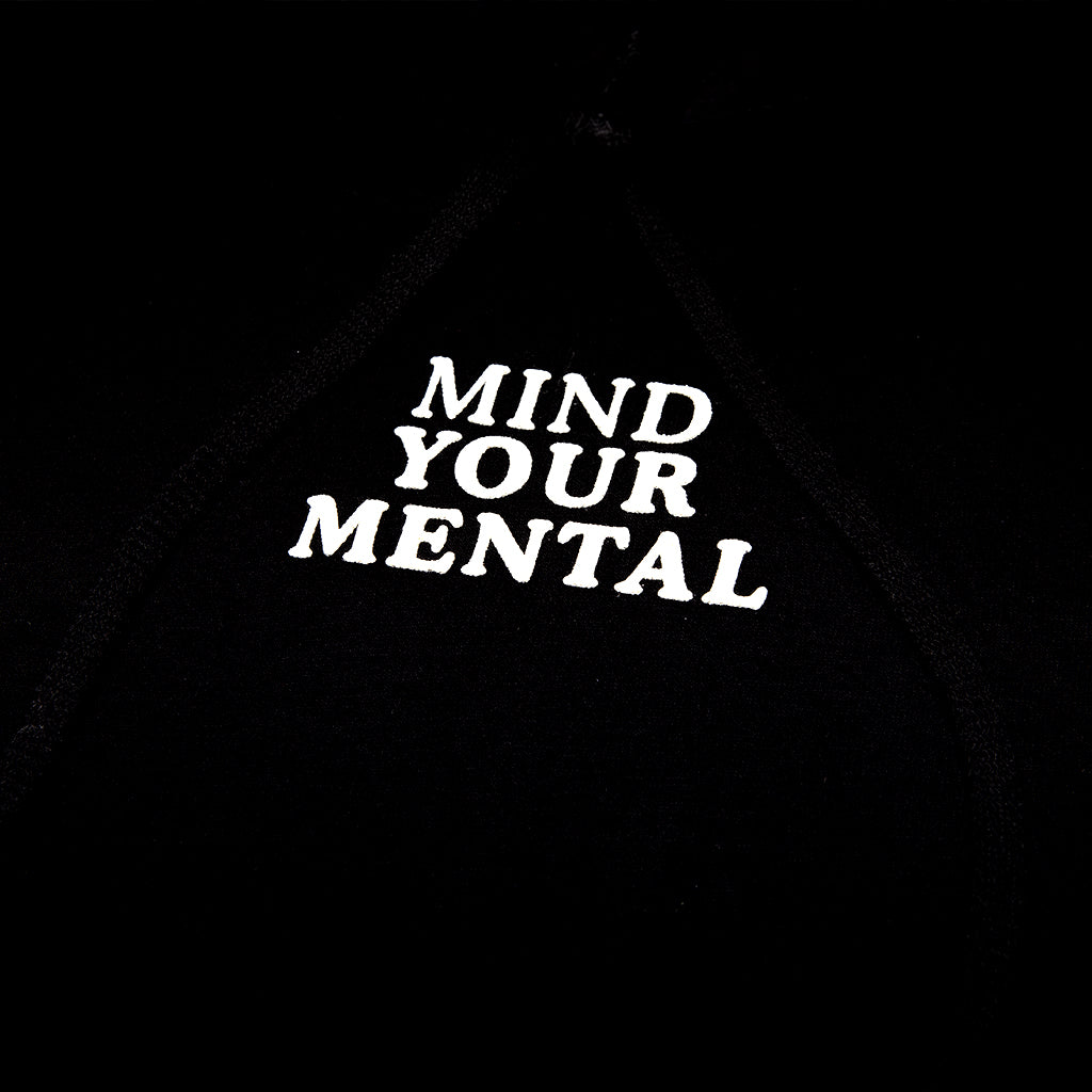 Mind Your Mental Hoody Black