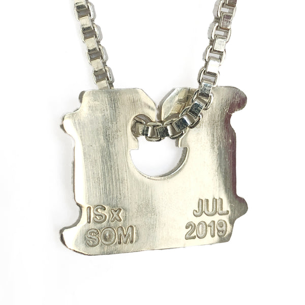 Breaking Bread Jewelry Piece Silver