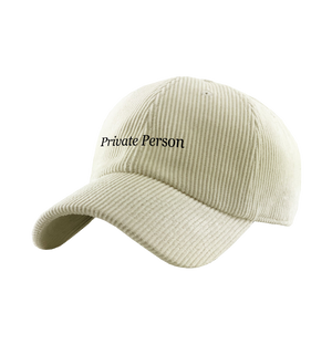 Private Person Cap