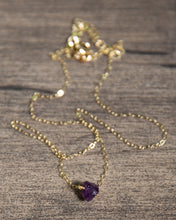 Load image into Gallery viewer, Raw Gemstone Necklace