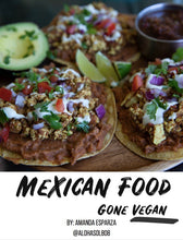 Load image into Gallery viewer, Mexican Food Gone Vegan