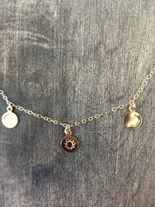 You are my sun, my moon, and all my stars charm necklace