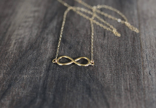 Infinite Love Infinity Sign Charm Necklace
