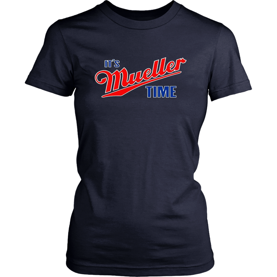 Adult It's Mueller Time Impeach Trump T-Shirt